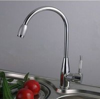 Wholesale Modern kitchen faucet hot and cold water single handle kitchen sink mixer water tap kitchen torneira de cozinha