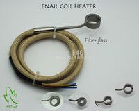 Wholesale ENAIL COIL HEATER THERMOCOUPLE K WITH XLR Fiberglass Sleeve SUPPORT CUSTOM