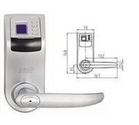 Wholesale 1pcs Reversible Handle Biometric fingerprint door lock F
