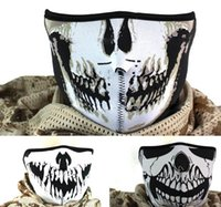 Wholesale LJJD3793 Navy Seal The Hell Demons Skeleton Ghost Skull Face Dark Specter Wolf Tooth Mask for CS Cosplay Motocycle Masquerade Masks