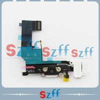 Wholesale Hot Sale Charger Dock Flex Cable For iPhone s Charging Port with Headphone Jack Flex Cable free shiping