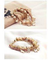 Wholesale China Wholesale High End Jewelry - MQC 30 pieces Charm Bracelets Mixed Lots Fashion Jewelry Wholesale Beauty High-end Charm Bracelet Vintage