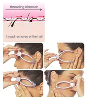 Wholesale New Original Hair Removal Threading System Beauty Tool Manually Threading Face Facial and Body Hair Epilator Free DHL shipping