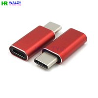 Wholesale 2015 NEW USB Type C Male to Micro USB Female Adapter Converter Charge Aluminium