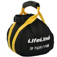 Wholesale Yellow sand bag kettle bell Adjustable weight pound kettle bell Gym trainning fitness Fabric case dumbbell