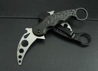 Cheap Fox Claw Karambit Practice No Sharp Folding blade knife Outdoor gear EDC Pocket Knife hunting knife camping knife knives