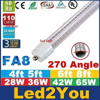 Cheap T8 t8 light tubes Best 28W 36W 42W 65W SMD 2835 dimmable led t8