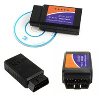 Wholesale 2015 New arrival Hot sale best quality New Interface Auto Diagnostic Scanner Tool OBD2 OBDII ELM327 WIFI Android Iphone Ip