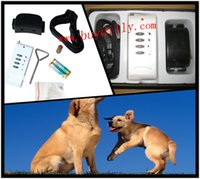 Wholesale 50pcs Remote Dog Training Vibration Sound Control Collar with CE and R TTE dog no bark collar P38