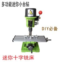 bench production - Mini mini mini bench bench bench drill milling machine precision high speed production of household tools mm beads