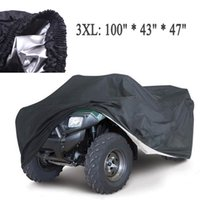 Wholesale covers Universal Quad Bike ATV Cover Parts Motorcycle Vehicle Car Covers Dustproof Waterproof Resistant Dustproof Anti UV Size XL