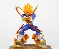 Wholesale high quality dragon ball z super saiyan action figure anime vegeta collection model toy figures kids gifts