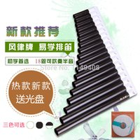 alto clarinets - High quality Pan Flute alto C pipes beginner musical instrument instrumentos musicales pan flauta clarinet flute instrument