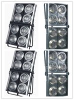 Wholesale 4 units Professional Eyes audience blinder led audience light w lamp with w big power lamp dj party disco stage light
