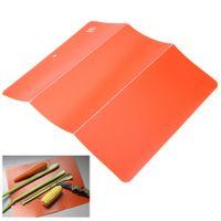 Wholesale Ultra Thin Outdoor Camping Folding Plastic Chopping Block Portable Flexible Kitchen Tool Food Cutting Board Mat