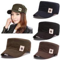 Wholesale Unisex Classic Women Men Cap Bone Snapback Cap Vintage Army Hat Military Hat Fashion Adjustable Outdoor Baseball caps gorras