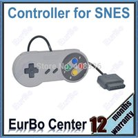 Wholesale 100pcs a Classic Classic Color Button Style Controller for SNES Gamepad for Super Nintendo