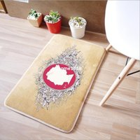 area rug sets - Welcome Mats Suede Area Rugs And Carpets Decorative For Living Room Bathroom Set Front Door Floor Mat Home Tapete de cozinha
