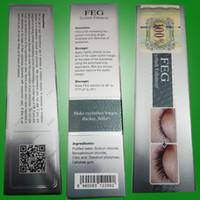 Wholesale 25pieces FEG eyelash enhancer lash serum Eyebrow growth FEG eyelashes growth within day thicken herbal ingredient