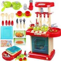 kitchen set - Children Classic Pretend Play Kitchen Set Toys Educational Cheap For Children Birthday Christmas Gift
