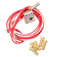 best pc printers - Best Price Newest D Printer Parts E3D Volcano Hot End Eruption Kit Set Heater Block And Nozzle One Pack for mm