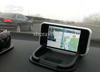 Antideslizante antideslizante teléfono celular titular de la estera del coche Accesorios Interior anti Skip Pad para Conductor
