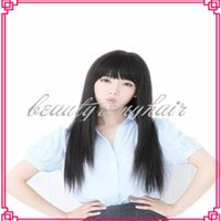 Brazilian hair hair weave and wigs - HOT Fashion Remy Human Hiar Indian Peruvian Brazilian Vrigin Human Wigs Full Lace Wig And Front Lace Wig Straight Hair Weaves
