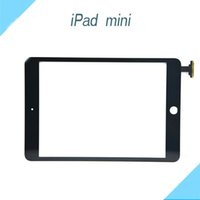 Wholesale Front Touch Screen for iPad Mini Mini Tempered Glass Lens OEM Compactive Screen Without IC Replacement Part White Black DHL