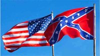 Wholesale the Confederate Battle Flags Two Sides Printed Flag Confederate Rebel Civil War Flag National Polyester Flags