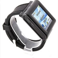 Wholesale AK912 Watch Phone Silicon Strap Single SIM Card Pinhole Camera FM Bluetooth Inch Touch Screen