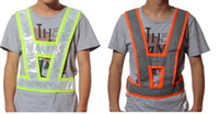 Wholesale New Arrival High Visibility Traffic Waistcoats Vest Security Reflective Stripes Jacket