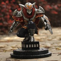 Wholesale Game LOL League of Legends Action Figure The Master of Shadows Zed Resin Action figure Figure Kids Toys Gift LOL027