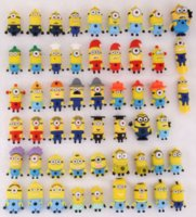 cheap pen drive - Cheap Cartoon Despicable Me Minion USB Flash Memory Stick Pen Drive U Disk Thumb Drive key chain Gift Real GB GB GB GB BOX
