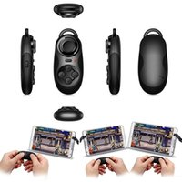 Wholesale 3in1 Bluetooth android Gamepad Controller for pc Selfie Remote Shutter Wireless mouse for Iphone IOS SAMSUNG laptop TV Box