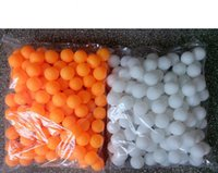 Wholesale 3000pcs bag Table Tennis Balls white and orange two choose Is not used for training