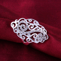 Wholesale Men Women Music Rings New Jewelry solid silver R579 Best Quality