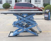 Wholesale High grade tons Ultrathin Scissor Lift With Automatically Mechanical Lock Manganese Steel Material