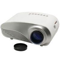 Wholesale Mini LED D Projector Electric Zoom Portable Video Pico Micro Small Mini Projector HDMI USB AV VGA TV Tuner Tripod