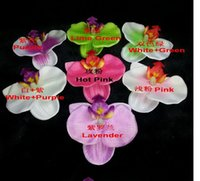 Wholesale High copy feel butterfly orchid The simulation butterfly orchid flower heads DIY flower
