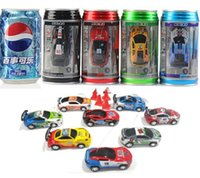 Cars car mini racing - Free Epacket New color Mini Racer Remote Control Car Coke Can Mini RC Radio Remote Control Micro Racing Car for Children Gift