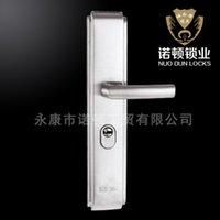 Wholesale Deluxe door factory direct high grade stainless steel security door handle anti theft locks ND FG869
