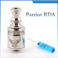 igo w - 2014 newest e cig atomizer patriot RDA RBA cartomizer MM for mechanical mod clone electronic cigarette VS igo w kraken aqua vape tanks