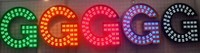 Wholesale LED illuminated exposed lettering logo signs D business signage display