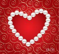 Wholesale Valentine day theme Backdrop Vinyl photography background Custom Photography Backdrop QRV180