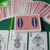 Wholesale Plastic poker Texas poker professional club high quality Casino Standard