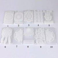 plastic flower - Henna White Floral Paisley flower mandala Plastic Hard back cell phone cases For Apple iphone G S S PLUS
