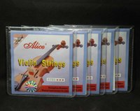 Wholesale Sets Alice A703 Stainless Steel Core Nickel Silver Wound Violin Strings