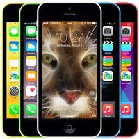Wholesale Original Apple iPhone C Unlocked I5C IOS8 Dual Core Mobile Telefone GB GB GB ROM MP Camera WCDMA G Cell Phone A Grade