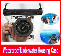 Wholesale DSLR SLR Camera Bag Lens Prob Waterproof Underwater Bag Housing Case Pouch underwater Professional Pouch Photography Waterproof Cover
