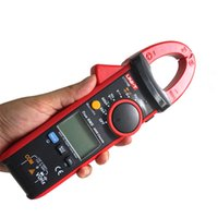 Wholesale Hot sale UNI T UT216B LCD Display A True RMS Digital Clamp Meters Auto Range w NCV V F C Frequency Tester Multimetro